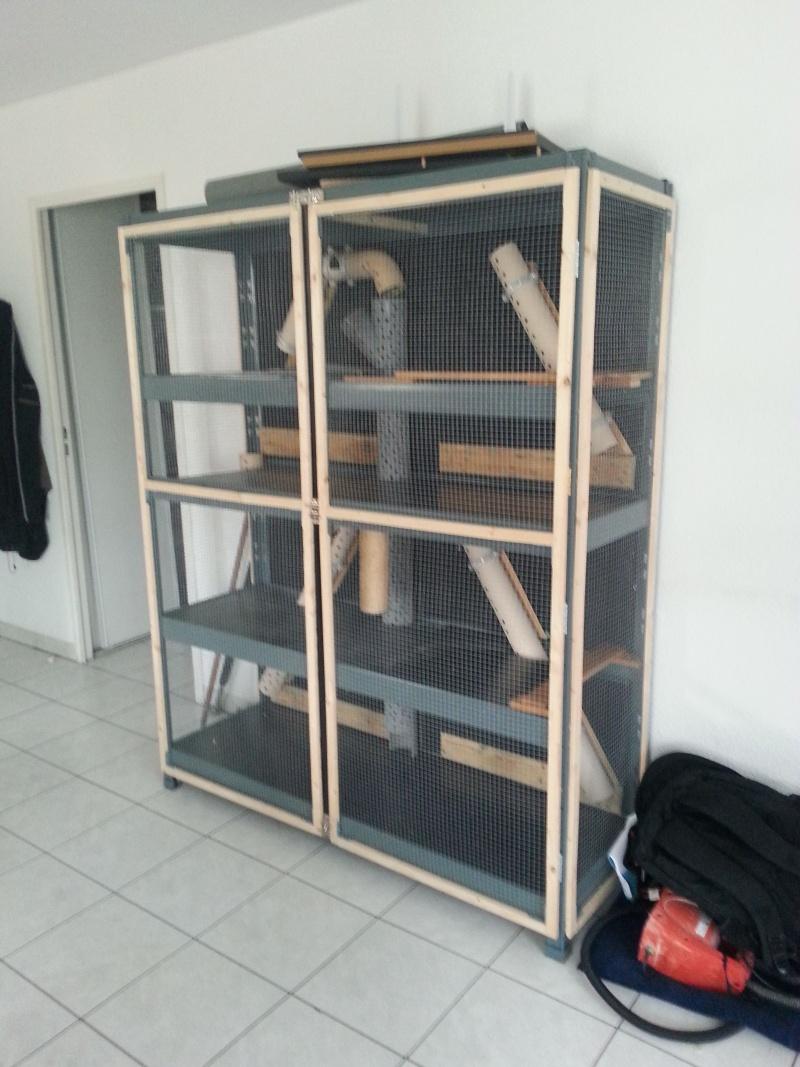 vend très grande cage Toulouse 20141112