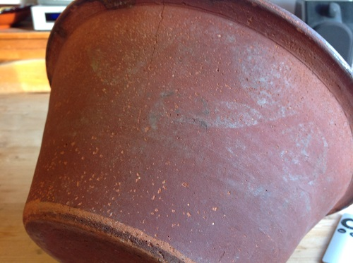 Anyone able to date and loacte the origin of this large terracota bowl?   Img_0613