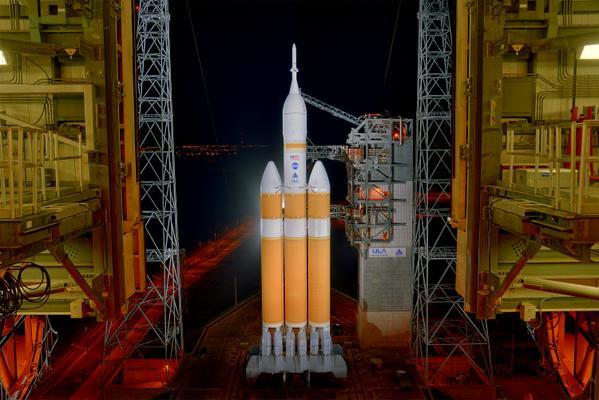 Lancement Delta IV Heavy / Orion EFT-1 - 5 décembre 2014 Roll_o11