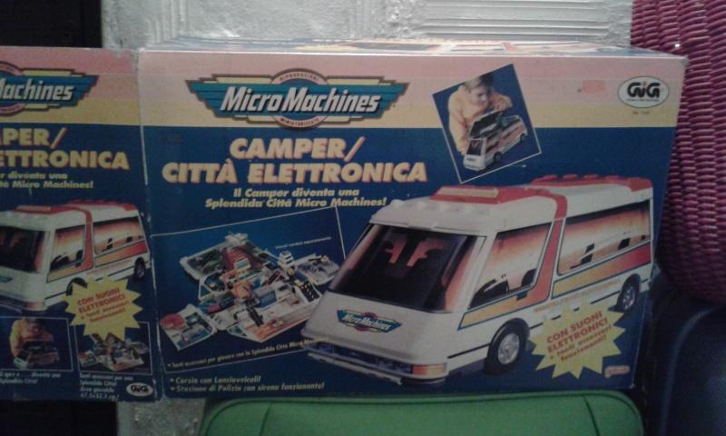Camper città elettronica Micromachines 20141139