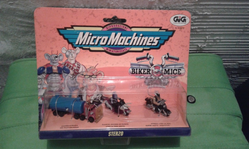 Micromachines Biker mice Sterzo 20141152