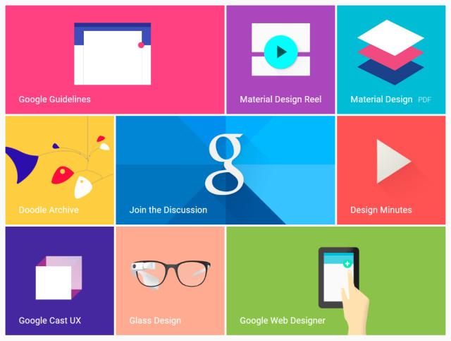 Le Material Design : tendance lancée par Google ? Materi10