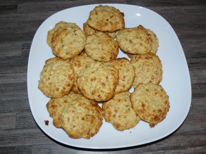 Petits gâteaux pomme-pralin aux flocons d'avoine Petits10