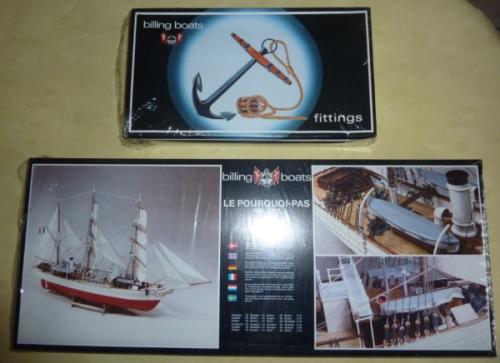 Le Pourquoi-Pas 1908 - Billing Boats - 1/75éme P34311
