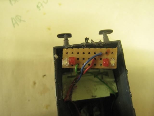 Branchement LED  Platin10