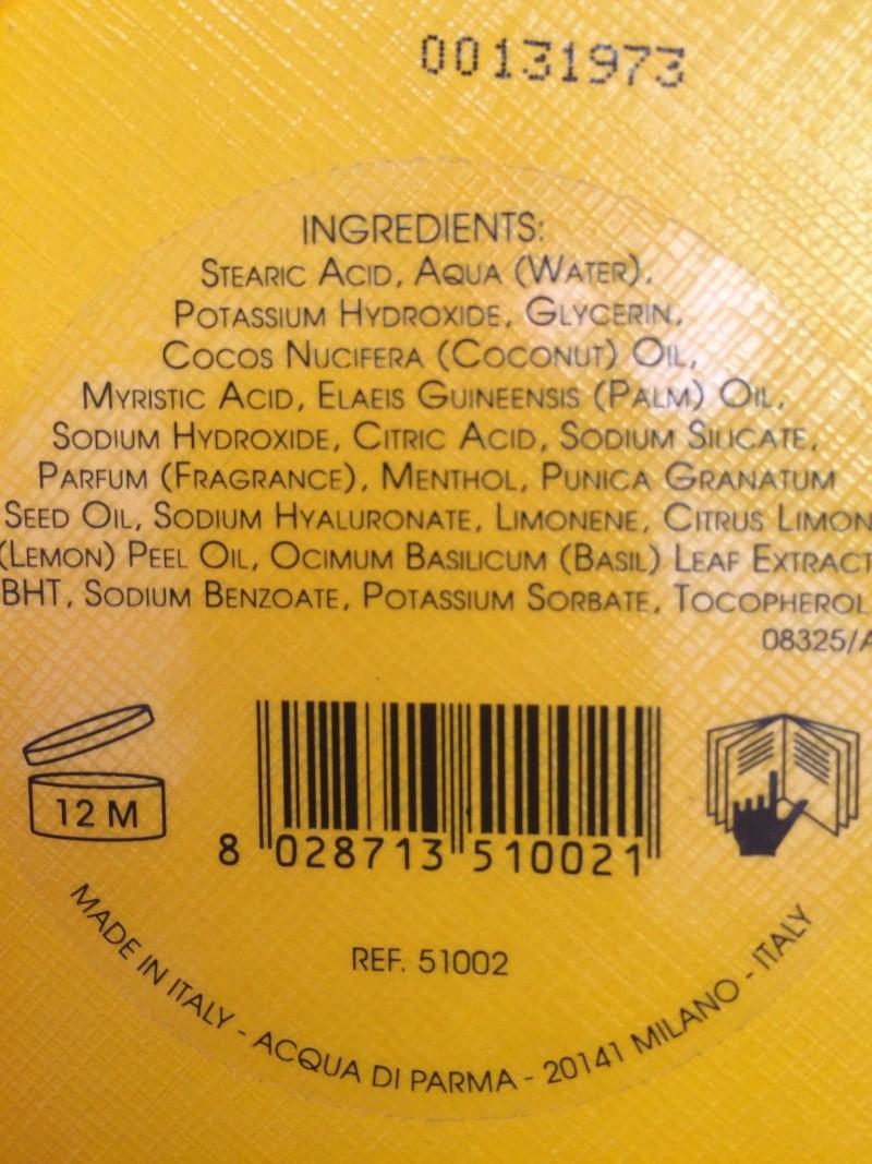 Acqua di Parma : Crème à raser 014e3810