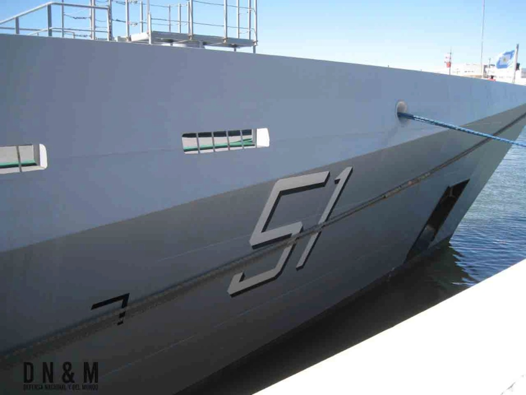 Defensa Nacional y el Mundo visito el ARA Bouchard Img-2036