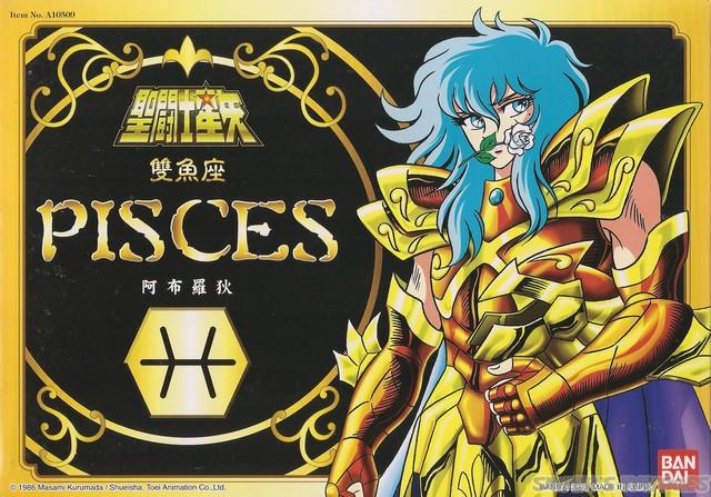 Cavalieri Dello Zodiaco Saint Seiya - Pesci Image112