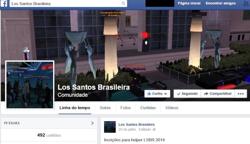 Los Santos Brasileira - Portal Lsbr10