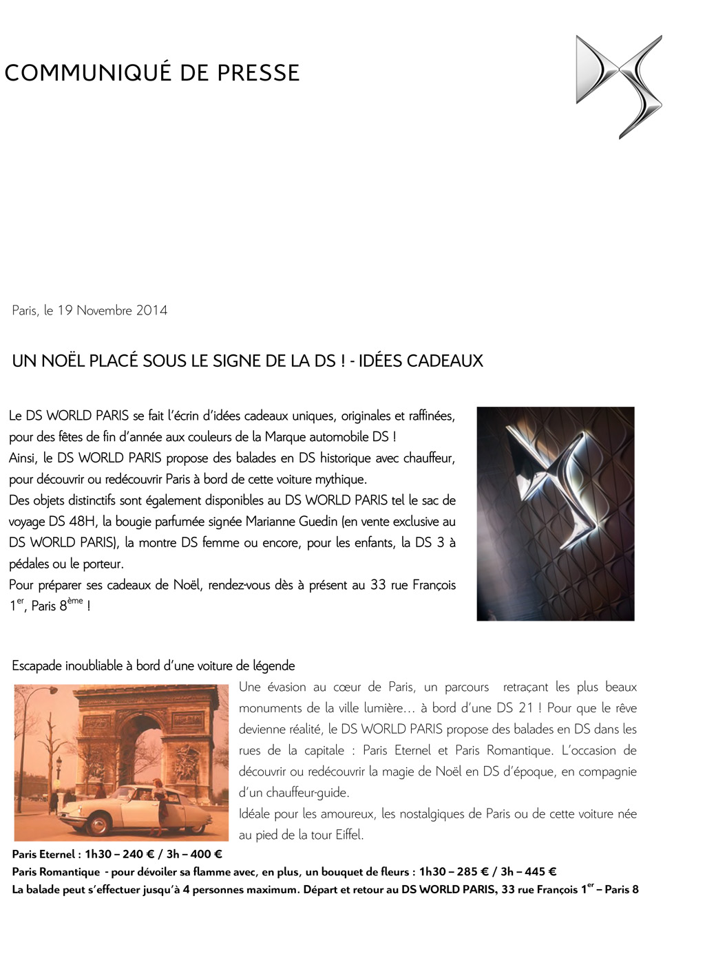 [ACTUALITE] Showroom DS World Paris - Page 7 Cp_noe10