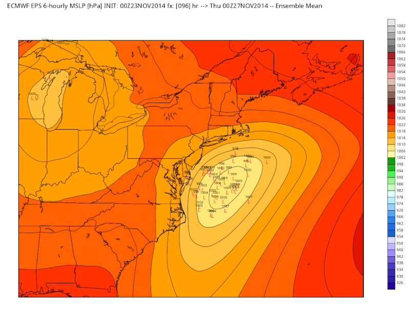 11/26 Strong Coastal Storm Possible - Page 4 Euro_l10