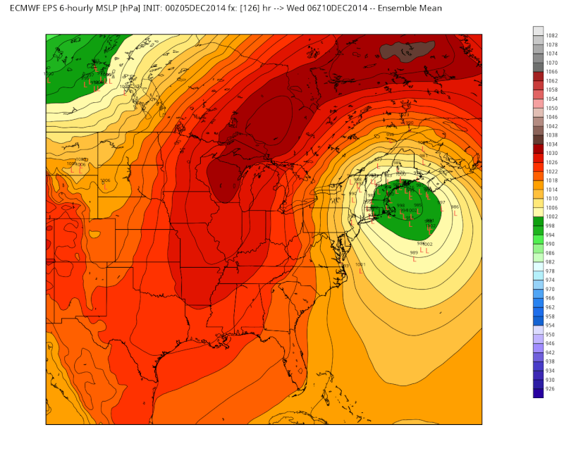 Possible Nor'easter Dec. 9th-10th - Page 2 Euro_l12