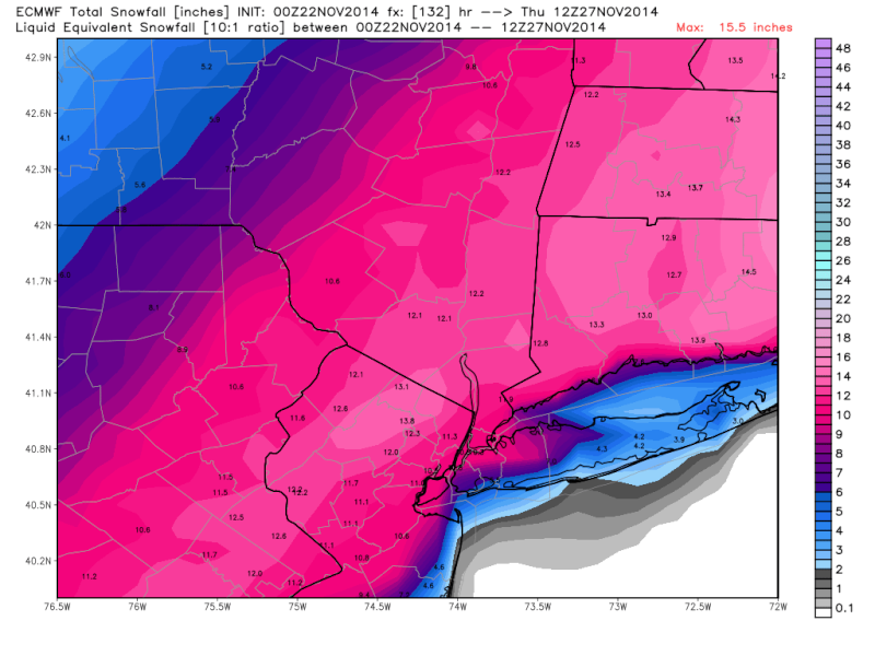 Thanksgiving Week Forecast - Page 2 Euro_s10
