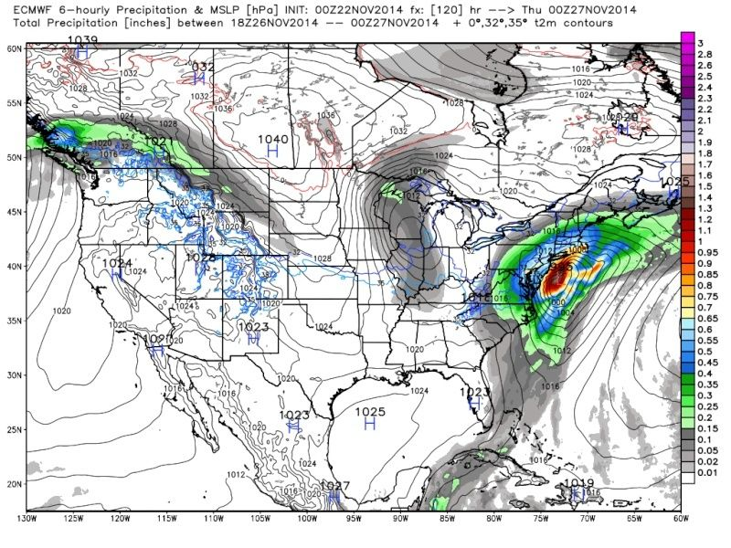 Thanksgiving Week Forecast - Page 2 Euro_w11