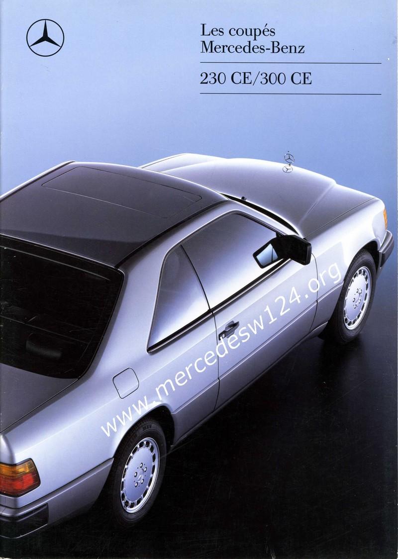 Les coupés Mercedes-Benz - 230 CE - 300 CE Img03411