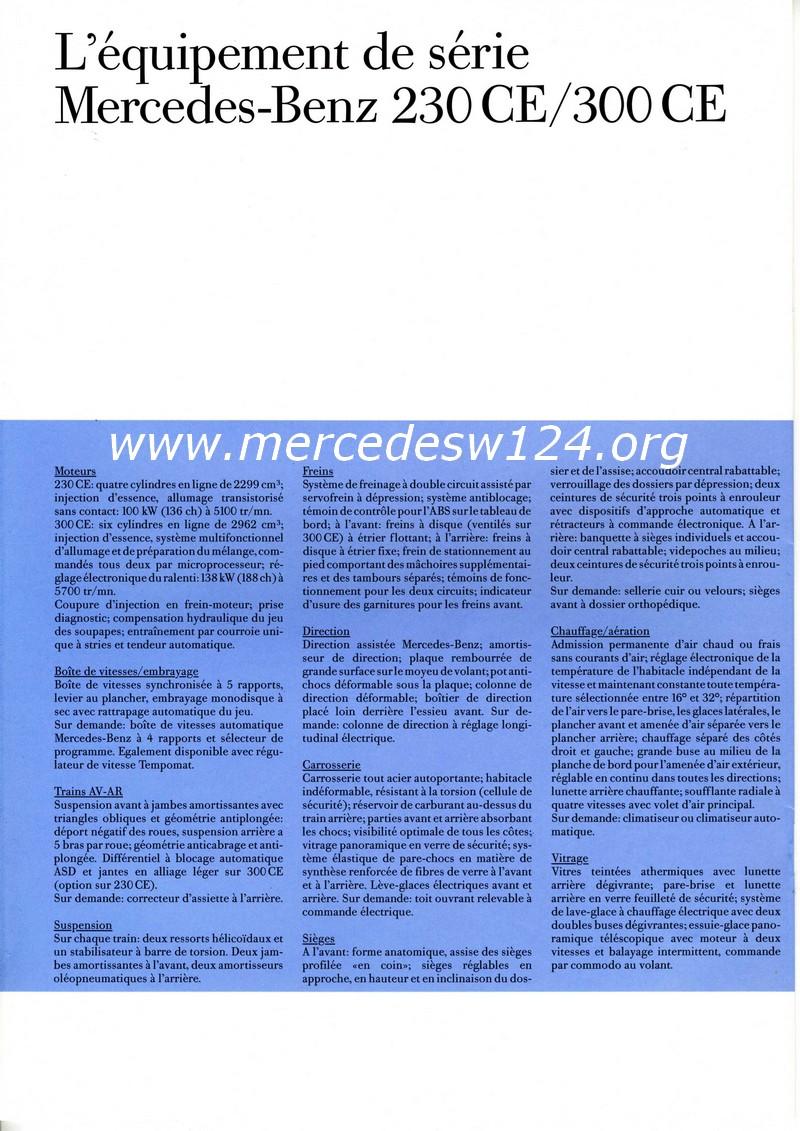 Les coupés Mercedes-Benz - 230 CE - 300 CE Img04310