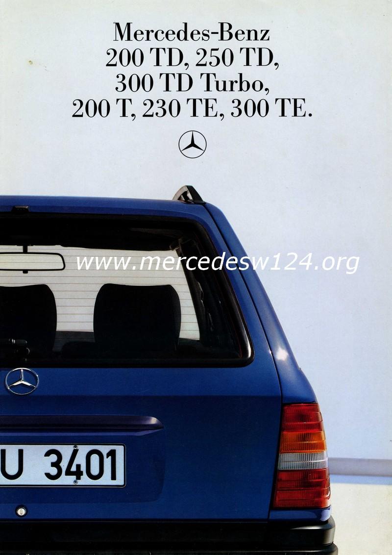 Mercedes-Benz - 200 TD - 250 TD - 300 TDT - 200 T - 230 TE - 300 TE Img06810
