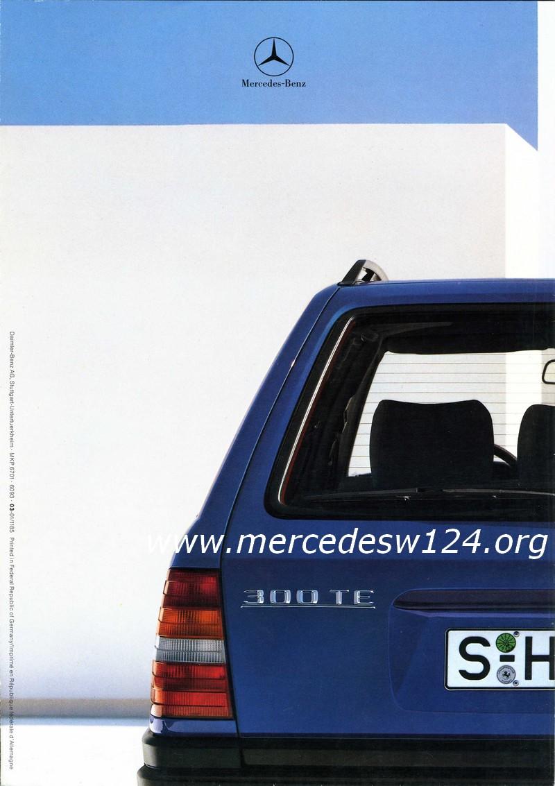 Mercedes-Benz - 200 TD - 250 TD - 300 TDT - 200 T - 230 TE - 300 TE Img08410