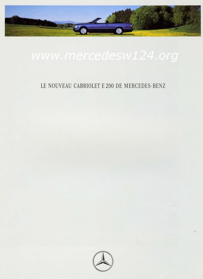 Le nouveau cabriolet E 200 DE MERCEDES-BENZ Img93410