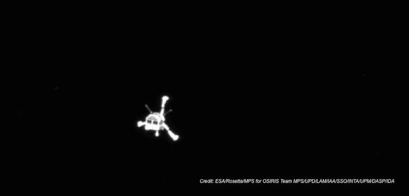 Si risveglia Rosetta B2p8u110