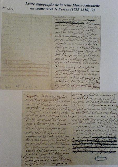 La correspondance de Marie-Antoinette et Fersen : lettres, lettres chiffrées et mots raturés - Page 15 Dsc00510