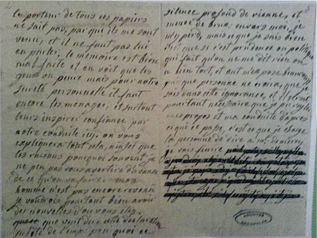 La correspondance de Marie-Antoinette et Fersen : lettres, lettres chiffrées et mots raturés - Page 15 Dsc00511