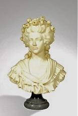 Sculpture : Les bustes de la princesse de Lamballe (présumée) Landuc10