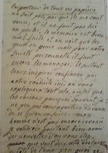 La correspondance de Marie-Antoinette et Fersen : lettres, lettres chiffrées et mots raturés - Page 15 Lettre10