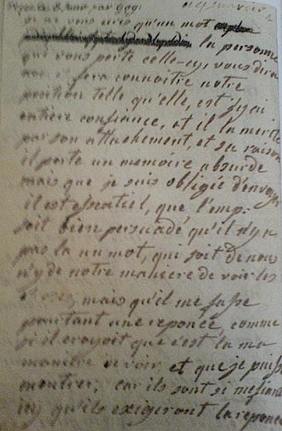 La correspondance de Marie-Antoinette et Fersen : lettres, lettres chiffrées et mots raturés - Page 15 Lettre11