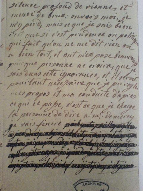 La correspondance de Marie-Antoinette et Fersen : lettres, lettres chiffrées et mots raturés - Page 15 Lettre12