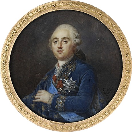 Portraits de Marie-Antoinette et Louis XVI, par Louis-Marie Sicard, dit Sicardi ou Sicardy M5035011
