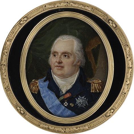 Portraits de Marie-Antoinette et Louis XVI, par Louis-Marie Sicard, dit Sicardi ou Sicardy M5035012