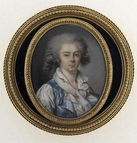 Portraits de Marie-Antoinette et Louis XVI, par Louis-Marie Sicard, dit Sicardi ou Sicardy M5035017