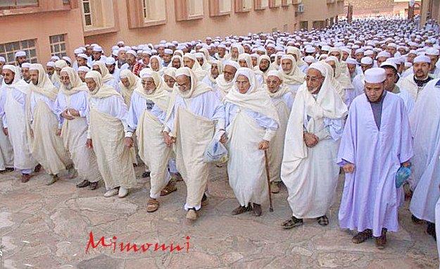 شعب مزاب المسالم يناضل ضد الغطرسة البوليسية الجزائر Mimoun12