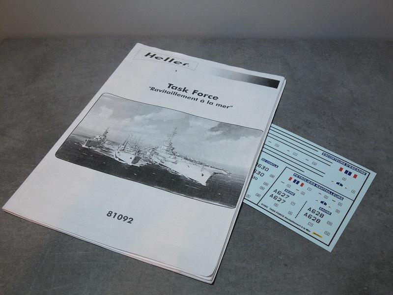 Pétrolier ravitailleur La Saône - 1/400  Heller Dscn6615