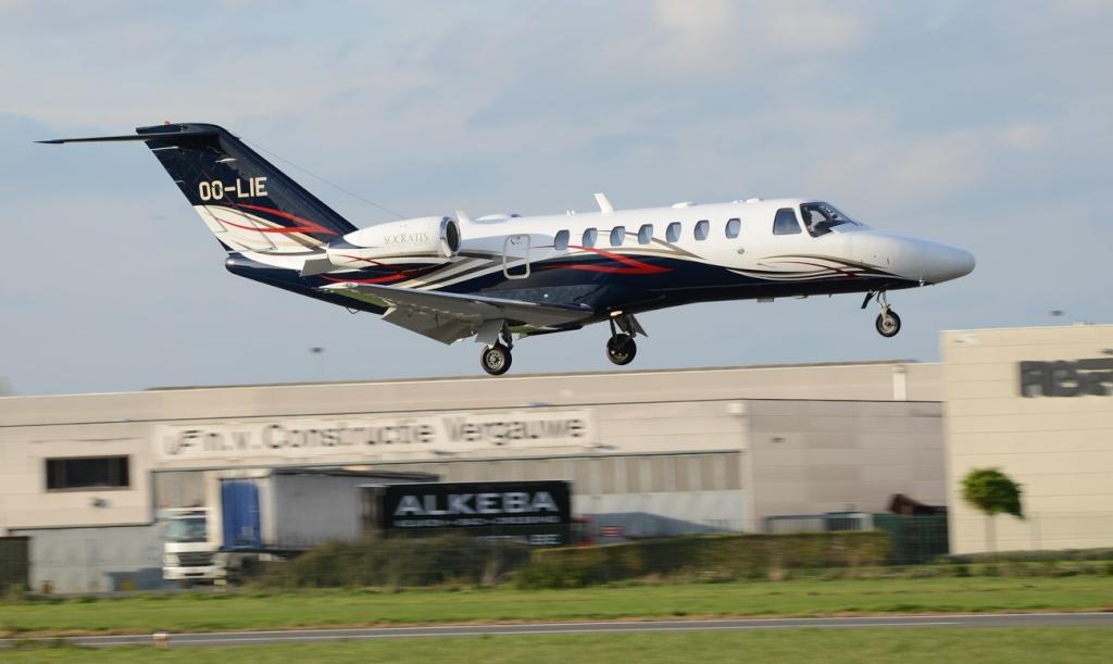 Aéroport International de Courtrai-Wevelgem_ 11 novembre Cessna10