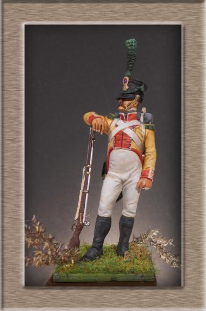 Grenadier 15e régiment Infanterie de la ligne Espagne 1807 MM 54m (modifications)  74_16411