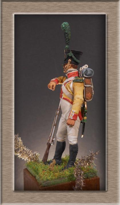 Grenadier 15e régiment Infanterie de la ligne Espagne 1807 MM 54m (modifications)  74_16511
