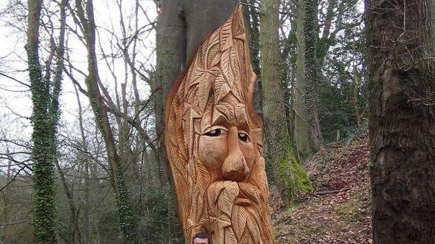Skulpture od drveta 410