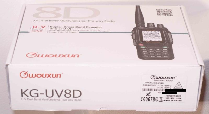 Emetteur-récepteur WOUXUN KG-UV8D 008110