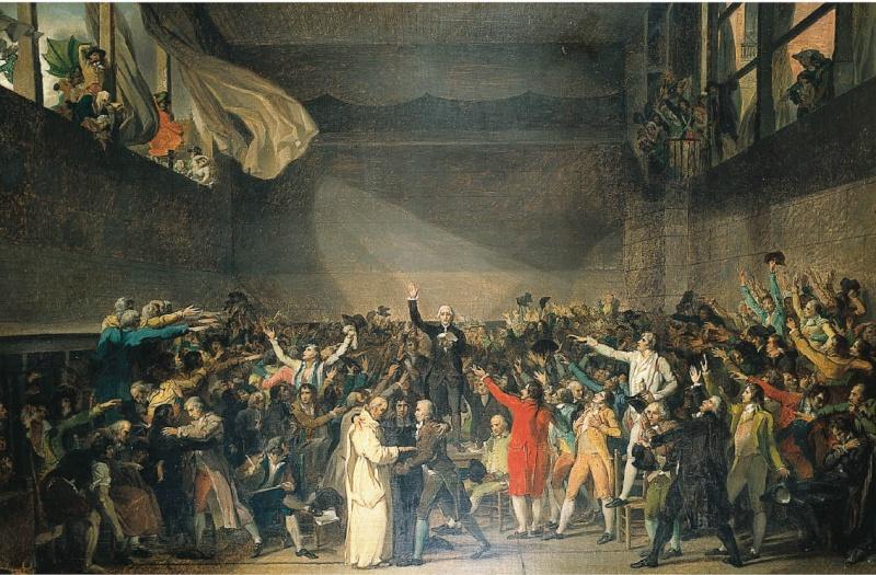 paume - 20 juin 1789: Le serment du Jeu de paume  97820310