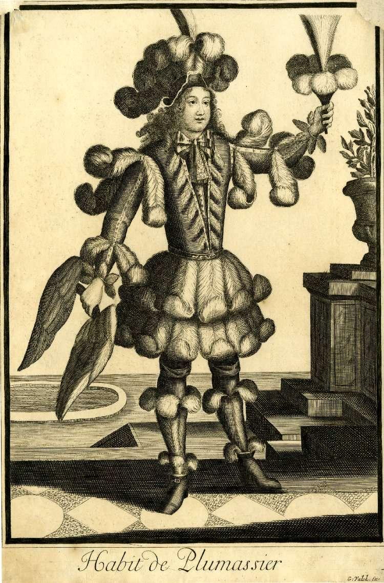 Les plumassiers, ces artisans indispensables aux modes du XVIIIème siècle An005110
