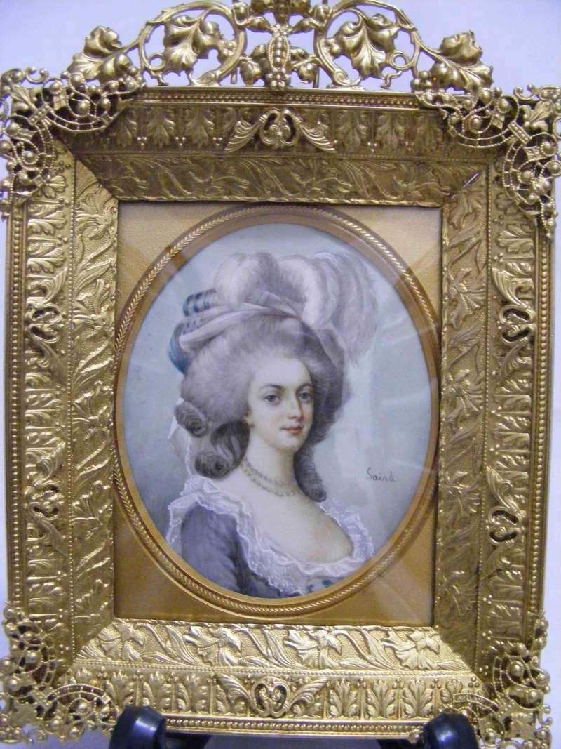 Déclinaisons sur le portraits à la rose en robe bleue, d'après Elisabeth Vigée Lebrun Zaucti10