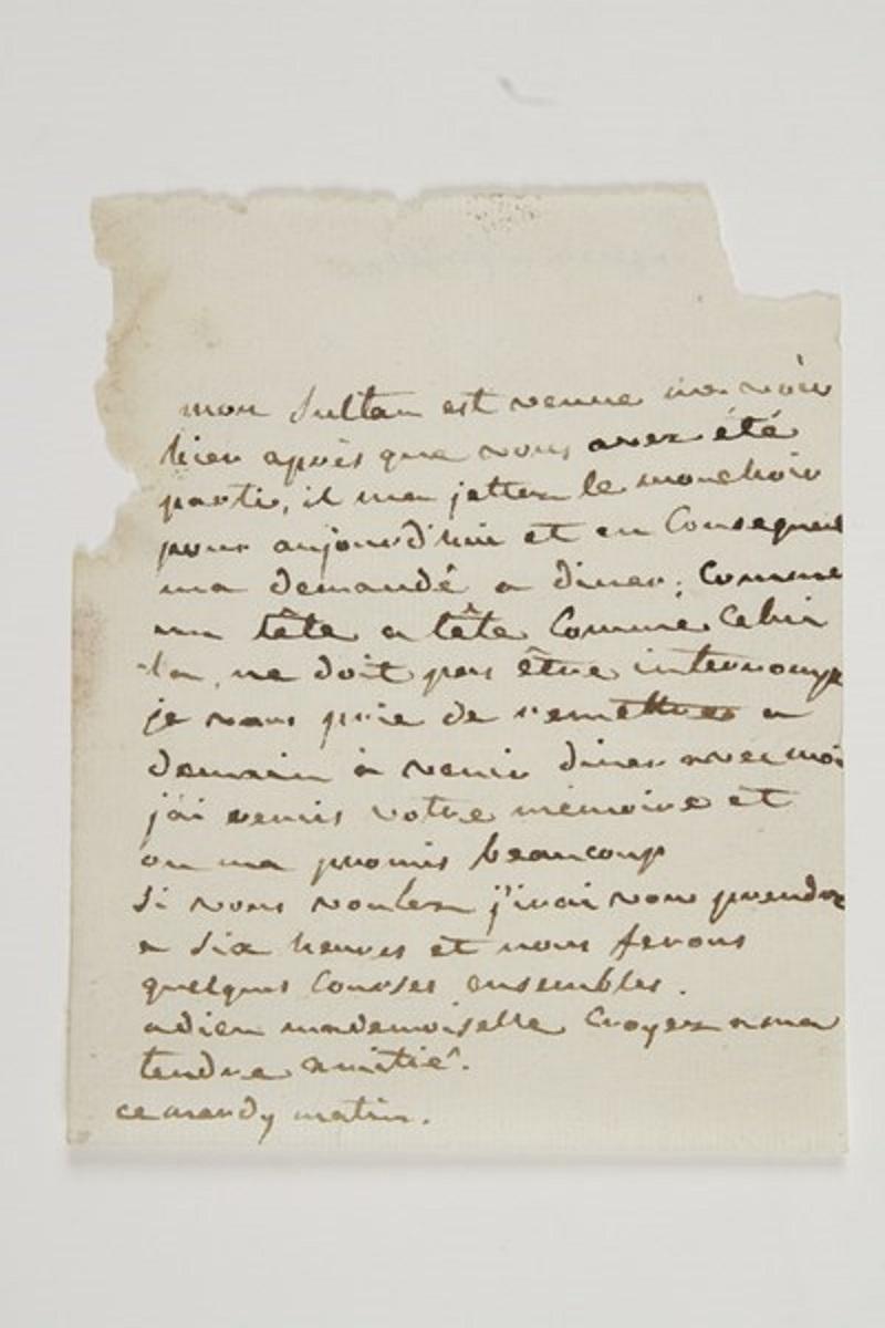 Lettres de Joséphine, Bonaparte puis impératrice Zsav12