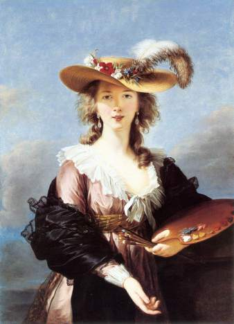 Elisabeth Vigée Lebrun, l'autoportait de 1790, Marie Antoinette et la Révolution Zvig1010
