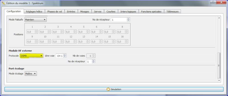 Module JR Hack Spektrum DSMX/DSM2  model match pour TARANIS Captur10