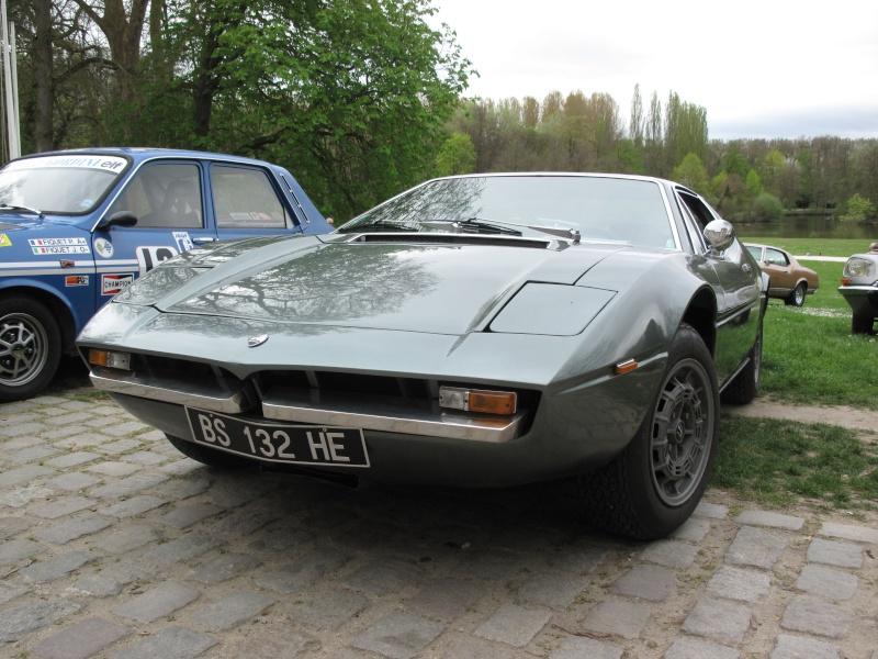 Il y a de la GS la dedans : Maserati Merak Img_2311