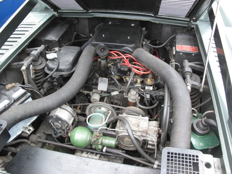 Il y a de la GS la dedans : Maserati Merak Img_2313