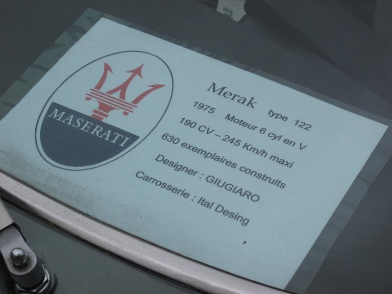 Il y a de la GS la dedans : Maserati Merak Img_2314
