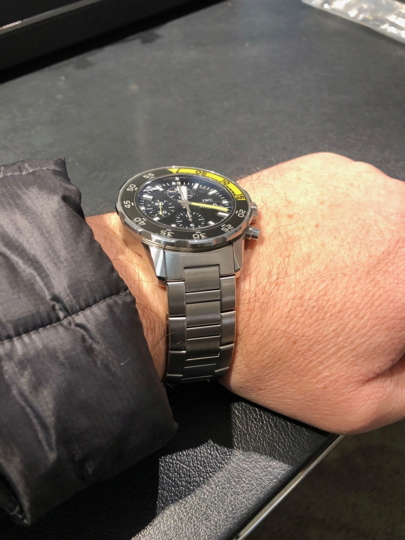 Bracelet métallique sur IWC Img_2011